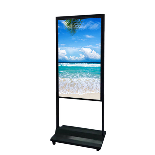 Double Sided Floor-Standing Window Facing Display – Commercial Standard